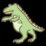 ゆるい恐竜