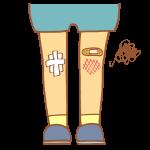 ひざの怪我