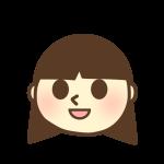 女の子の顔