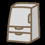 冷蔵庫(片開き)