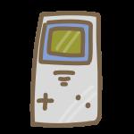 レトロなポータブルゲーム機