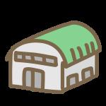 丸い屋根の体育館