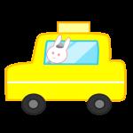 うさぎのタクシー
