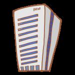 シンプルなグレーのビル