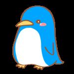水色のペンギン