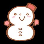 雪の日のマーク
