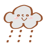 雨の日のマーク