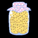 瓶詰クッキー