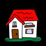 赤い屋根のお家