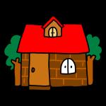 レンガのお家