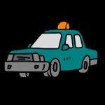 タクシー緑