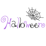 「 Halloween 」文字