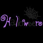 「 Halloween 」文字