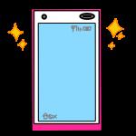 新品のスマートフォン