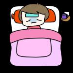 寝て治す人
