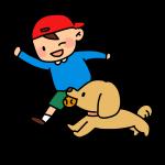 少年と犬2
