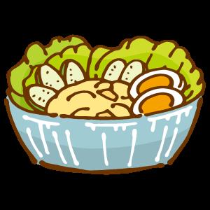 ポテトサラダのイラスト ...