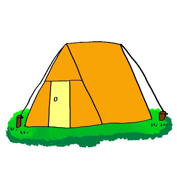 「テント 無料 イラスト」の画像検索結果