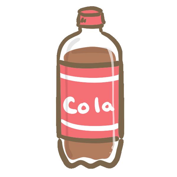 コーラのイラスト | かわいいフリー素材が無料のイラストレイン