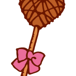 棒付きチョコレート