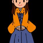 卒業式(袴姿)