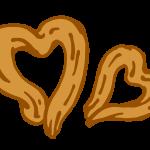 ハート型クッキー