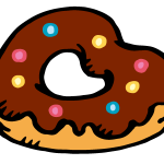 ハート型ドーナツ