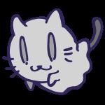 仮装した猫1