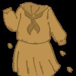 セピア色の思い出(セーラー服)