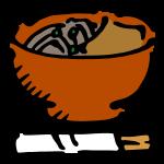 年越し蕎麦(きつね)
