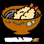 年越し蕎麦(天ぷら)