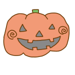 ハロウィンらしいかぼちゃ