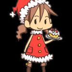 サンタクロースな女の子