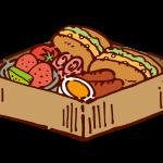 お弁当(パン)