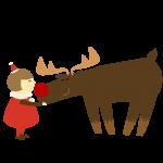 サンタと子供
