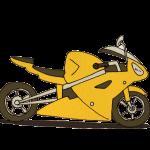 スポーティーなバイク