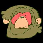 サルのお面