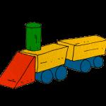 つみきの機関車