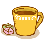 マグカップに入ったコーヒー