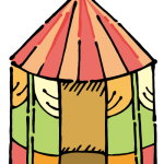 子ども用テント