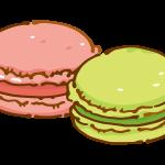 マカロン(ピンクとグリーン)
