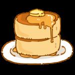 厚みのあるパンケーキ