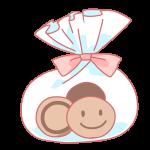 袋詰めクッキー