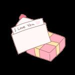 手紙とプレゼント
