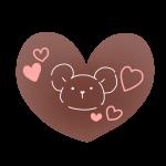 絵が描かれたチョコレート