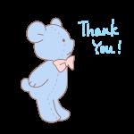 クマのぬいぐるみ「ThankYou!」