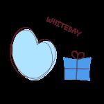 ハートとプレゼント