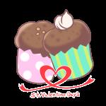バレンタイン_カップケーキ