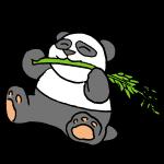 笹とパンダ