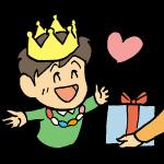 誕生日男の子